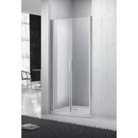Дверь душевая BELBAGNO Sela двойная распашная 700x1900 ст прозрачное