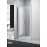 Дверь душевая BELBAGNO Sela двойная распашная 1000x1900 ст матовое