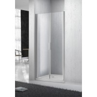 Дверь душевая BELBAGNO Sela двойная распашная 1200x1900 ст прозрачное