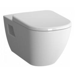 Унитаз VITRA D-Light подвесной сиденье с микролифтом (бел) 5910B003-6098