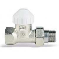Термостатический прямой вентиль для радиатора Watts TVD 3/4