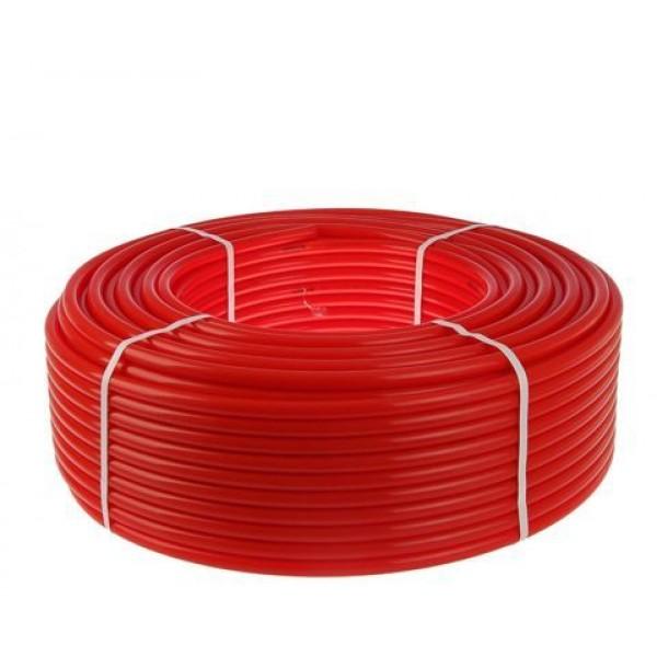 Труба для отопления в полу 20х2,0 цвет красный FV-Plast THERM PE-Xb/EVOH
