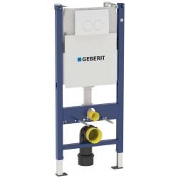 Инсталяция для подвесного унитаза Geberit DUOFIX UP100 с нак пан Delta21 458.120.11.1