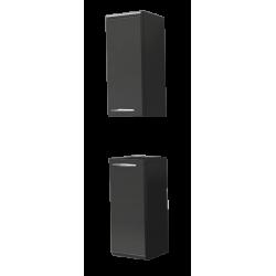 Пенал-шкаф Соло 25, серый ПР