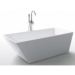 Ванна Gemy акрил прямоугольная 170х80х60 слив-перелив G9208
