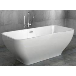Ванна Gemy акрил прямоугольная 170х70х60 слив-перелив G9220