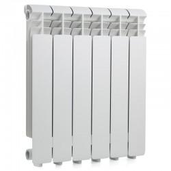 Радиатор алюминиевый Global ISEO 500  6 секций боковое подкл.   1086 Ватт
