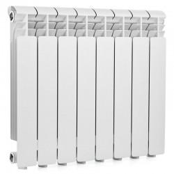 Радиатор алюминиевый Global ISEO 500  8 секций боковое подкл.   1448 Ватт