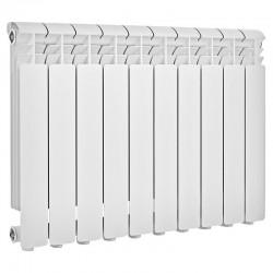 Радиатор алюминиевый Global ISEO 500 10 секций боковое подкл.  1810 Ватт