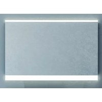 Зеркало Valente AGGETO с подсветкой сенсором и подогревом (800х28х650) Agt800.11 03