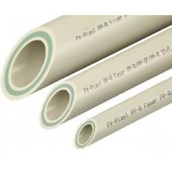 Труба полипропиленовая Faser Стекловолокно  50x6,9 FV-Plast  AA107050004