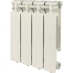 Радиатор алюминиевый Global ISEO 350 4 секций боковое подкл.   536 Ватт