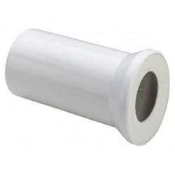 Соединение к WC Viega 100x250 пластик, прямое белое мод.3815, 101312