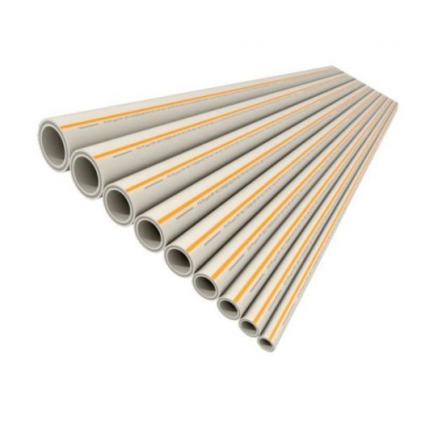 Труба полипропиленовая PP-RCT FASER HOT 20x2,8 Стекловолкно FV-Plast