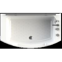 Ванна акриловая Радомир ЧАРЛИ 120х69 рама-подставка слив фронтальная панель