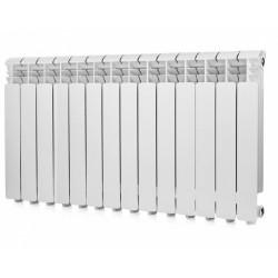 Радиатор алюминиевый Global ISEO 500 14 секций боковое подкл. 2534 Ватт