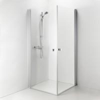 Душевой уголок IDO SHOWERAMA 8-02 квадратный /900х900/,прозрачное стекло 4980032909