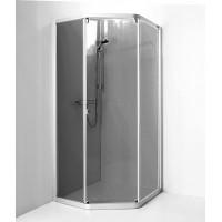 Душевой уголок IDO SHOWERAMA 8-3 90x90 профиль серебр, тонированное стекло 4983013909