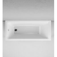 W90A-160-070W-A Gem, ванна акриловая A0 160x70 см, шт