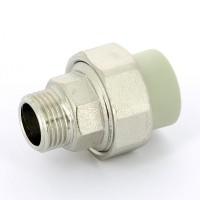Резьбовое соединение (американка) ппр наружное 25x 3/4 FV-Plast 237025