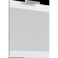 Зеркало со светильником Aqwella Бриг 75 цв дуб седой Br.02.07/SM