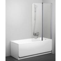 Шторка на ванну RAVAK CVS2-100 R Chrome блестящий+транспарент 7QRA0C00Z1