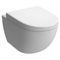 Унитаз VITRA Sento подвесной сиденье с микролифтом (бел) 4448B003-6073