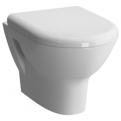 Унитаз VITRA Zentrum подвесной с сиденьем (бел)