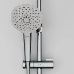 F0770A400 Spirit V2.0 душ.система, набор: смеситель д/душа с термостатом, верхн. душ d 250 мм, ручн.