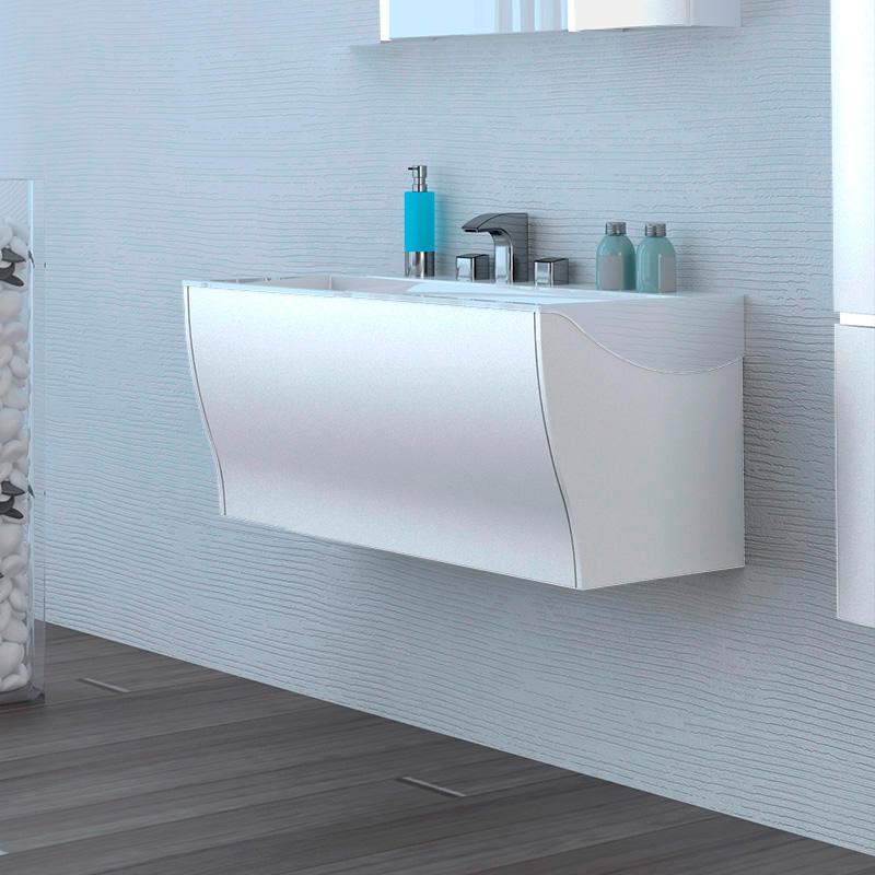 Мебель для ванной тумба с раковиной акватон