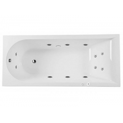 W5AW-170-075W2D64 Inspire, ванна гидромассажная Evo Plus 170*75 на каркасе, без фронтальной панели