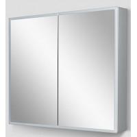 Зеркальный шкаф AM.PM SPIRIT 2.0 с LED-подсветкой 80см алюминиевый корпус M70AMCX0801SA