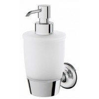 Диспенсер AM.PM Like стеклянный для жидкого мыла с настенным держателем A8036900