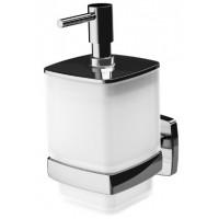 Диспенсер AM.PM Gem стеклянный для жидкого мыла с настенным держателем A9036900