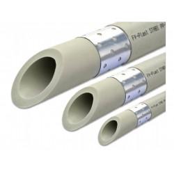 Труба полипропиленовая PP-RCT Stabioxy PN20 32x3,6 арм. алюм.фольгой FV-Plast