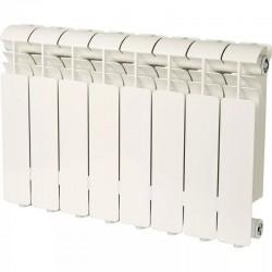 Радиатор алюминиевый Global ISEO 350 8 секций боковое подкл.  1072 Ватт