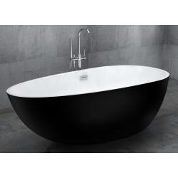 Черная ванна Gemy G9211B
